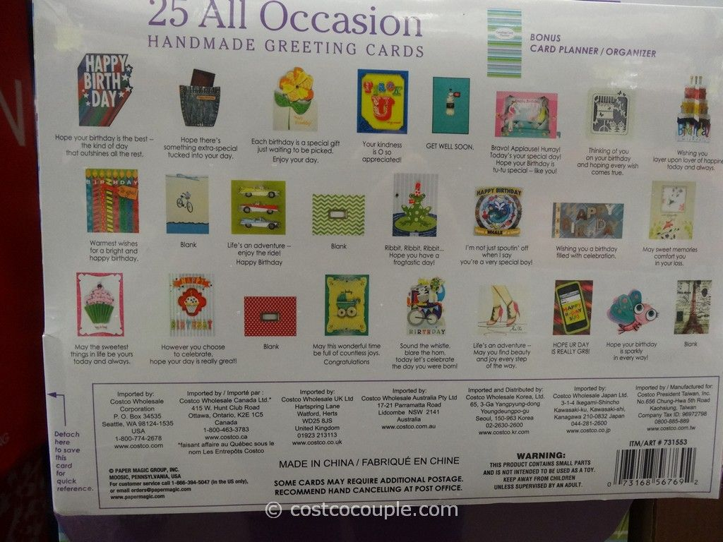 Paper Magic 25 All Occasion Cards