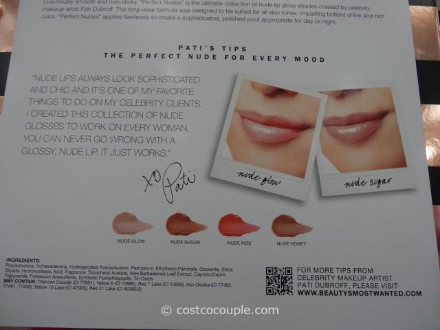 Pati Dubroff Perfect Nudes Lip Gloss Costco 2