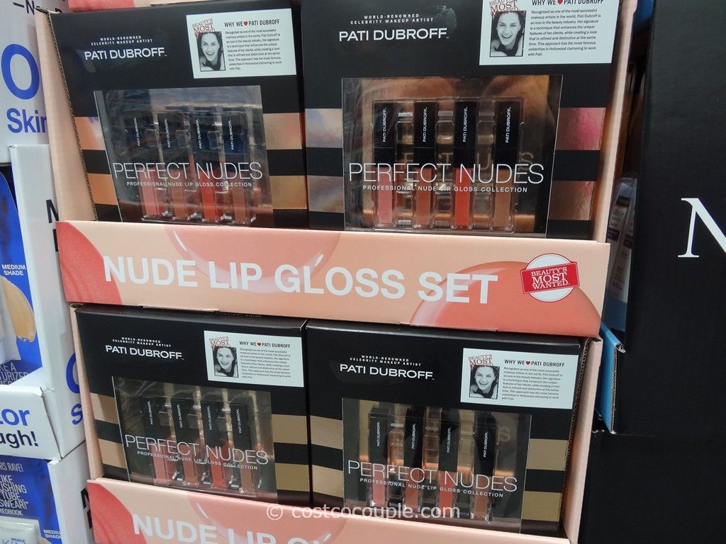 Pati Dubroff Perfect Nudes Lip Gloss Costco 3