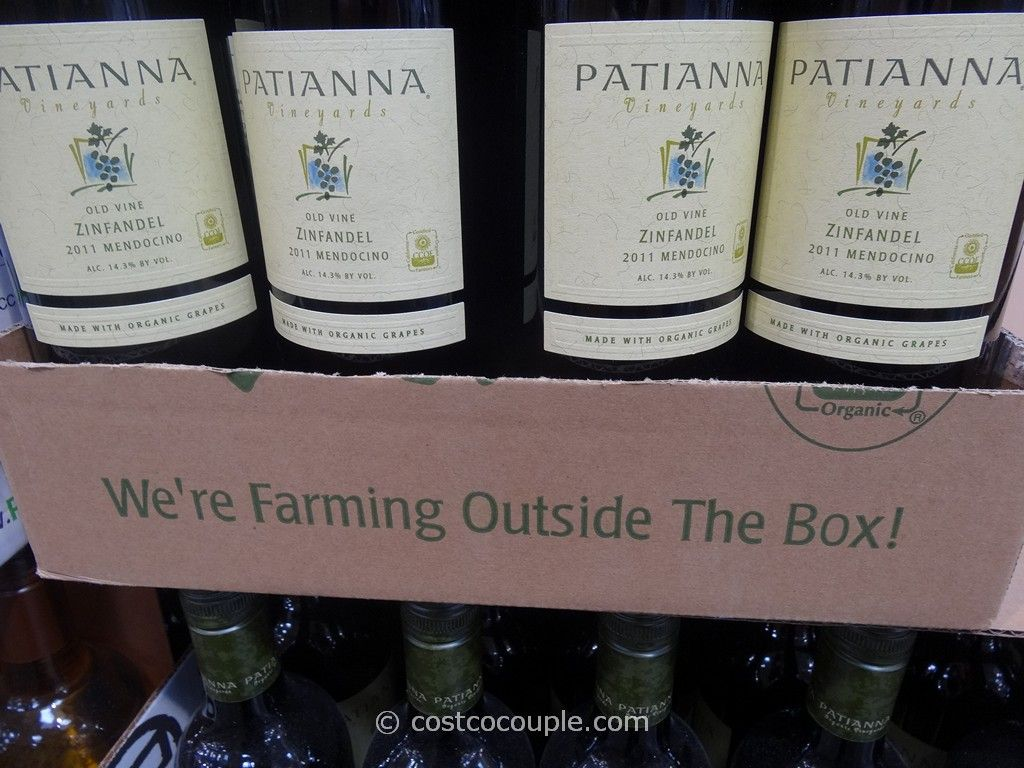 Patianna Zinfandel Costco 3