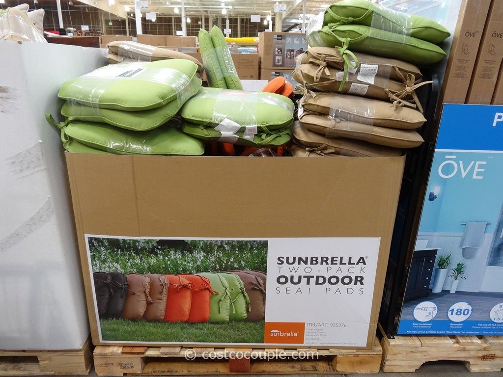 Peak Season Outdoor Seat Pads Costco 2