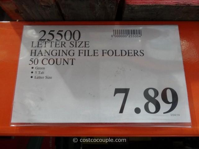 Pendaflex Essentials Hanging File Folders Costco 3