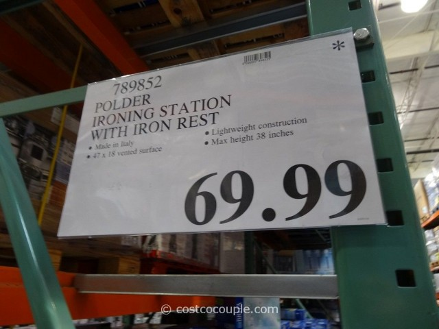 Polder Deluxe Ironing Station Costco 1