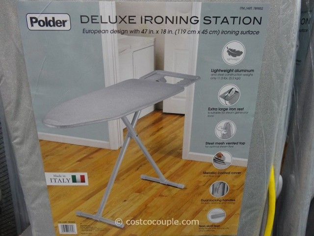 Polder Deluxe Ironing Station Costco 2