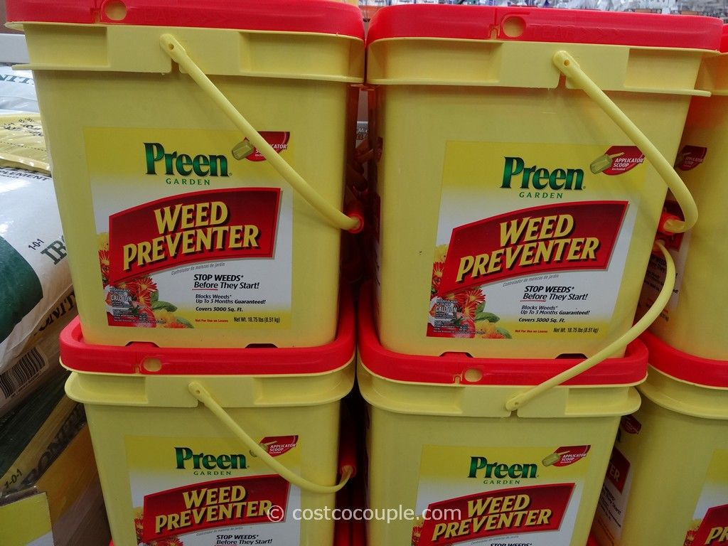 Preen Weed Preventer Costco 3