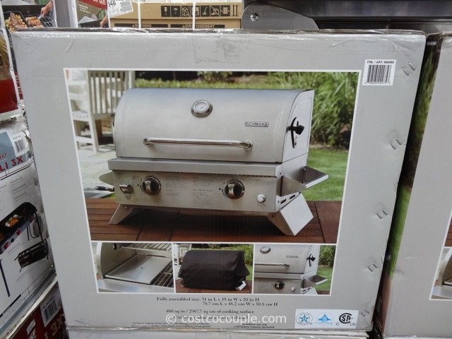 Richman Portable LP Gas Grill Costco  3