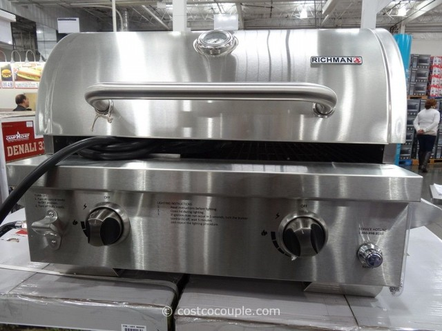 Richman Portable LP Gas Grill Costco  4