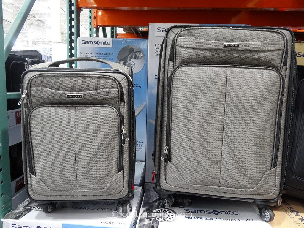 Samsonite 2-Piece Soft-Sided Spinner Set Costco 4