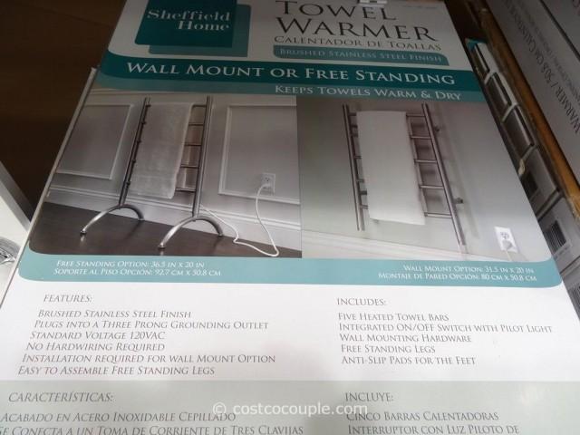 Sheffield Home Towel Warmer Costco 5