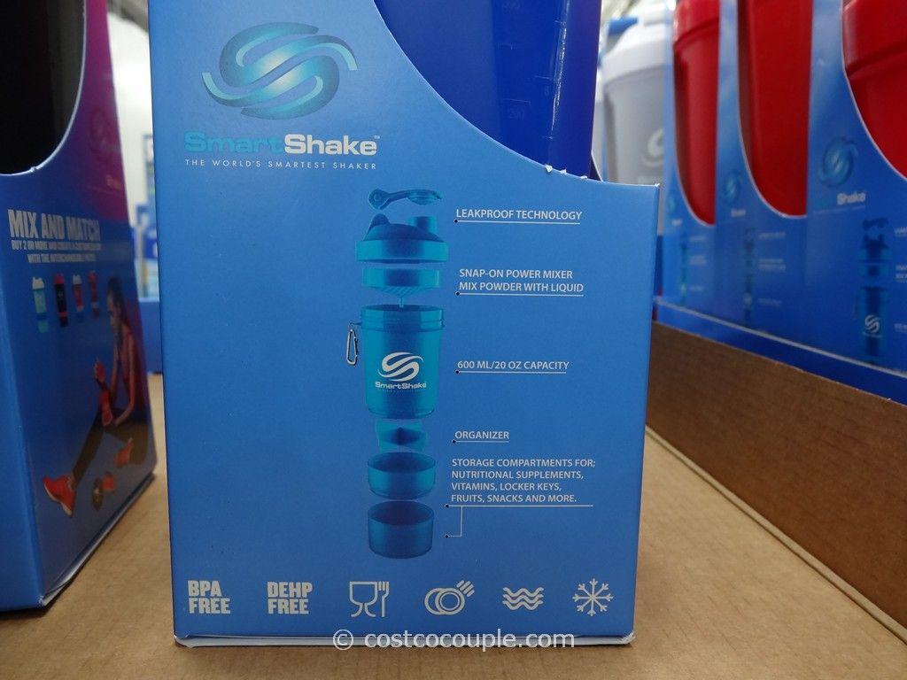 Smartshake Shaker Bottle