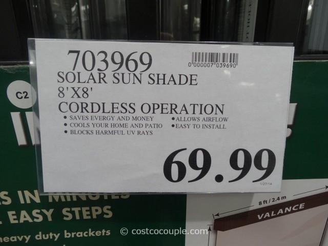 Solar Exterior Sun Shade Costco 1