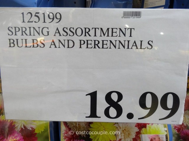 Spring Assortment Bulbs and Perennials Costco 1