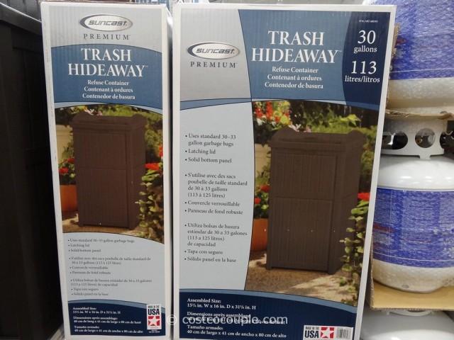 Suncast Premium Trash Hideway Costco 3