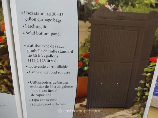 Suncast Premium Trash Hideway Costco 4
