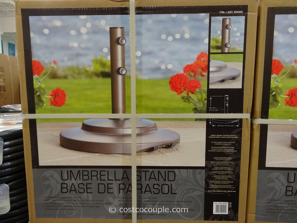 Sungrade Umbrella Stand Costco 2