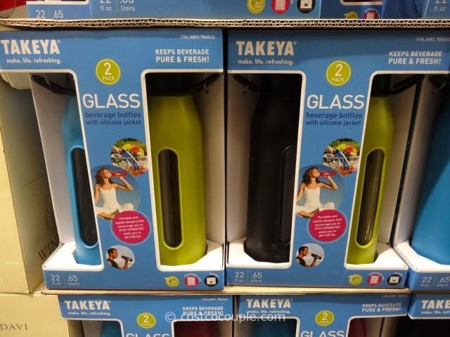 Takeya Glass Beverage Bottles Costco 2