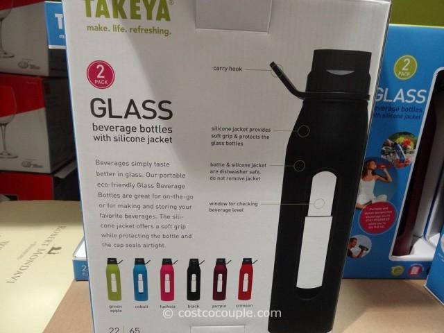 Takeya Glass Beverage Bottles Costco 3