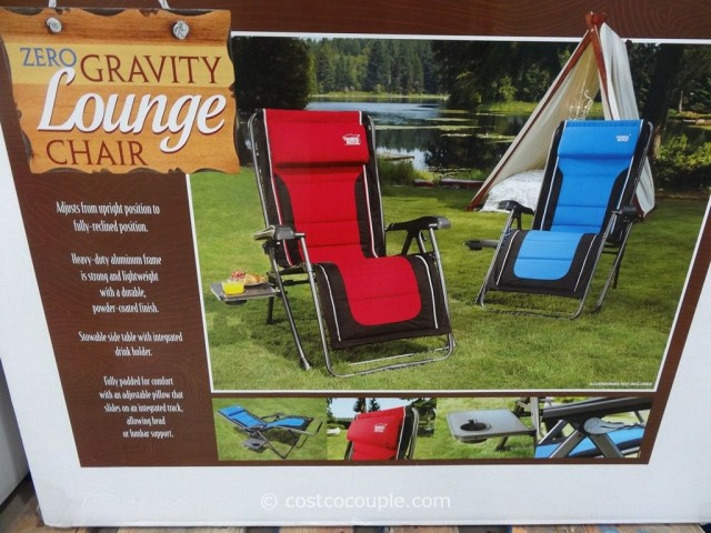 Timber Ridge Zero Gravity Lounge Chair Costco 1