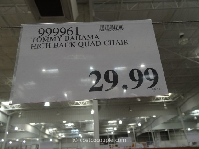 Tommy Bahama High Back Quad Chair Costco 1