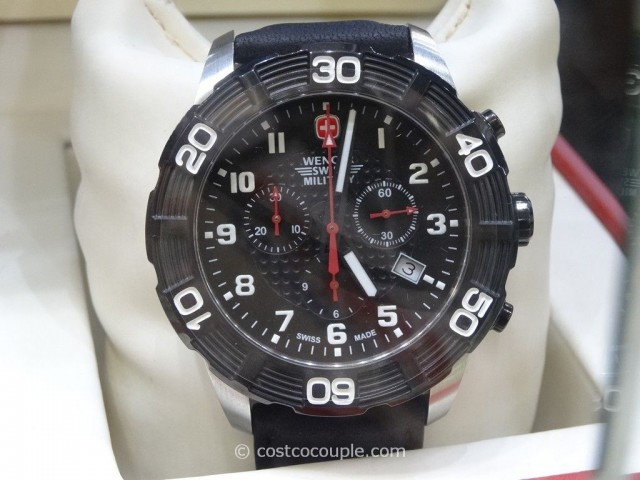Wenger Swiss Military Roadster Chronograph Watch Costco 2