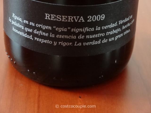 2009 Vina Eguia Rioja Reserva Costco 5