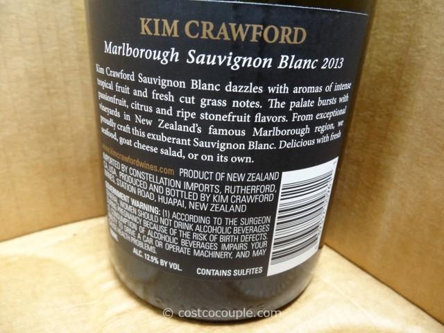 2013 Kim Crawford Sauvignon Blanc Costco 2