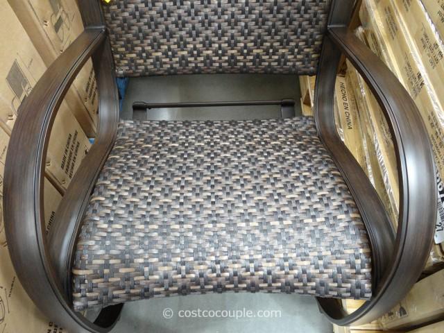 Agio International Aluminum Woven Rocker Costco 6