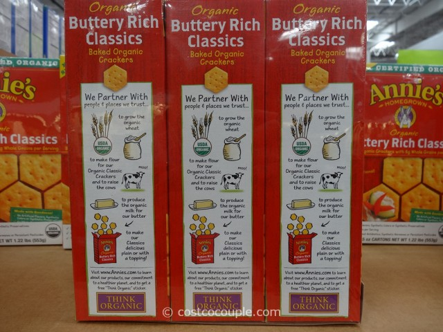 Annies Buttery Rich Organic Crackers Costco 3