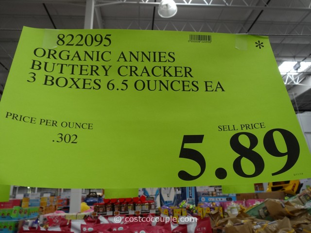 Annies Buttery Rich Organic Crackers Costco 4