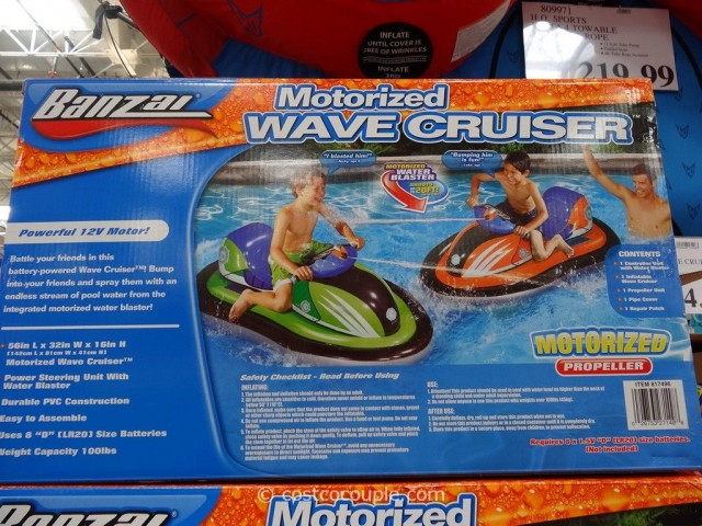 Banzai Motorized Wave Cruiser Costco 4