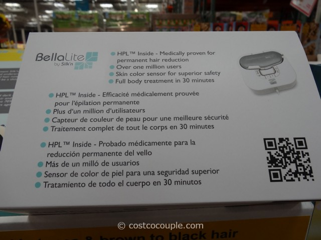 Bellalite by SilkN Hair Removal System Costco 6