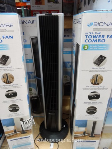 Bionaire Tower Fan Combo Costco 3