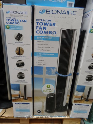 Bionaire Tower Fan Combo Costco 4