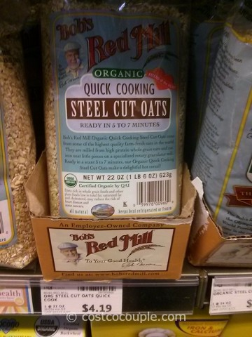 Bobs Red Mill Organic Quick Cooking Steel Cut Oats Whole Foods
