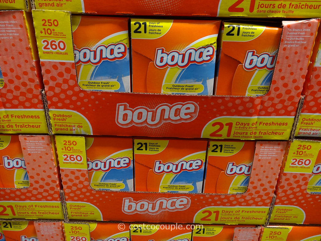 Bounce Dryer Sheets Costco 2