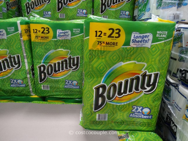 Bounty Paper Towels Costco 1