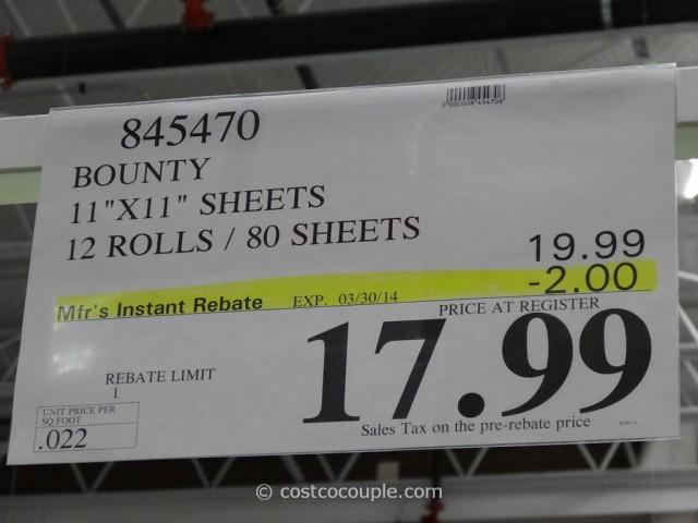 Bounty Paper Towels Costco 3