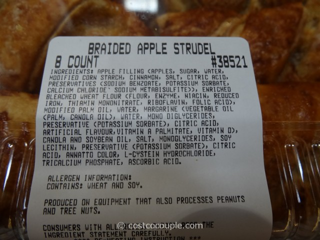 Braided Apple Strudel Costco 3