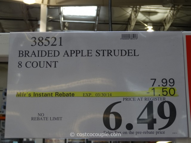 Braided Apple Strudel Costco 4
