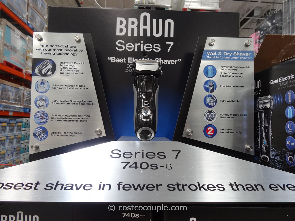 Braun Series 7 Electric Shaver Costco 2