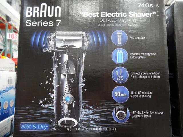 Braun Series 7 Electric Shaver Costco 4