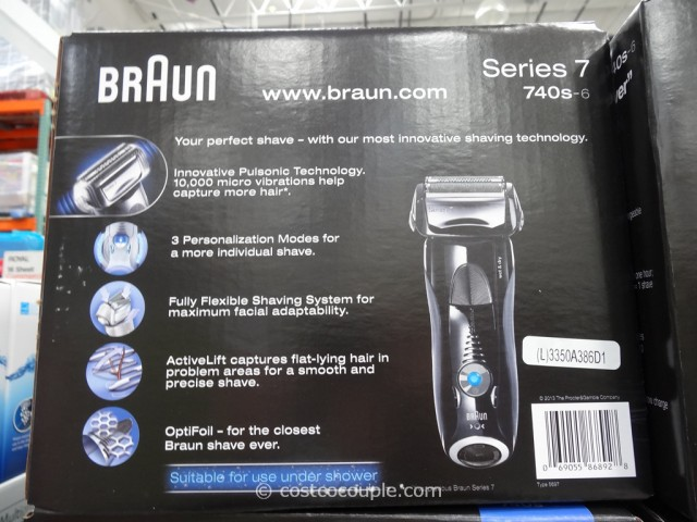 Braun Series 7 Electric Shaver Costco 5