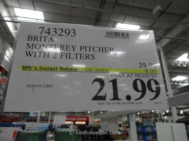 Brita Monterey Pitcher Costco 3