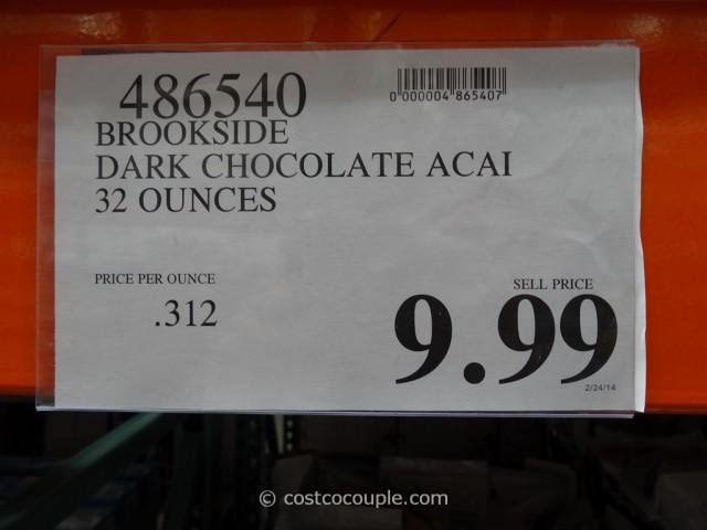 Brookside Dark Chocolate Acai Costco 1