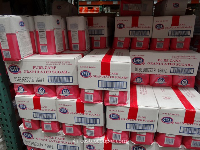 C & H Pure Cane Granulated Sugar 10 lbs Costco 1