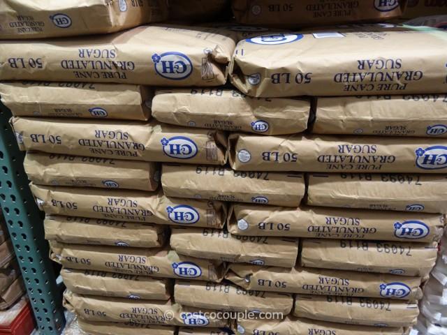 C & H Pure Cane Granulated Sugar 50 lbs Costco 2