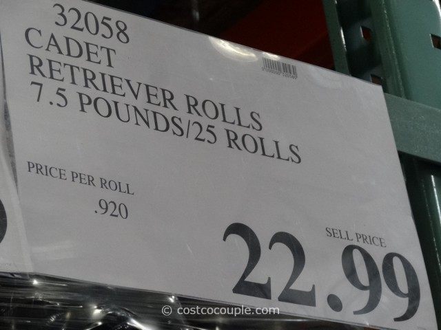 Cadet Rawhide Retriever Rolls Costco 1