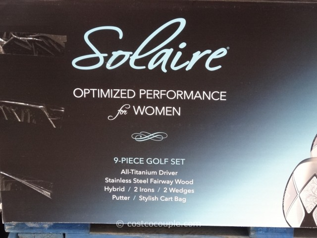 Callaway 9-Piece Ladies Solaire Golf Club Set Costco 2