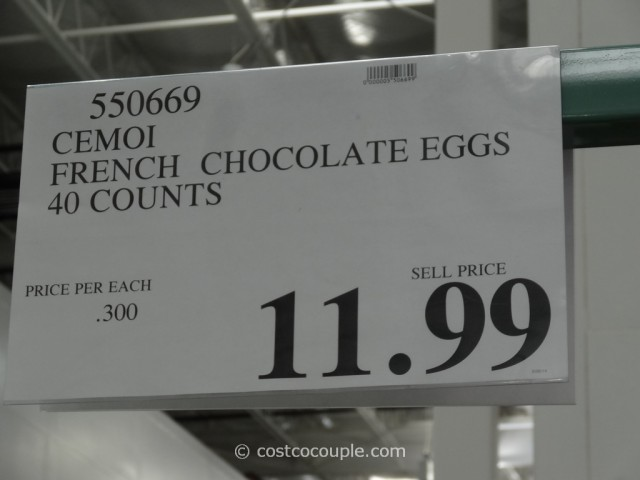 Cemoi Milk Chocolate Eggs Costco 1