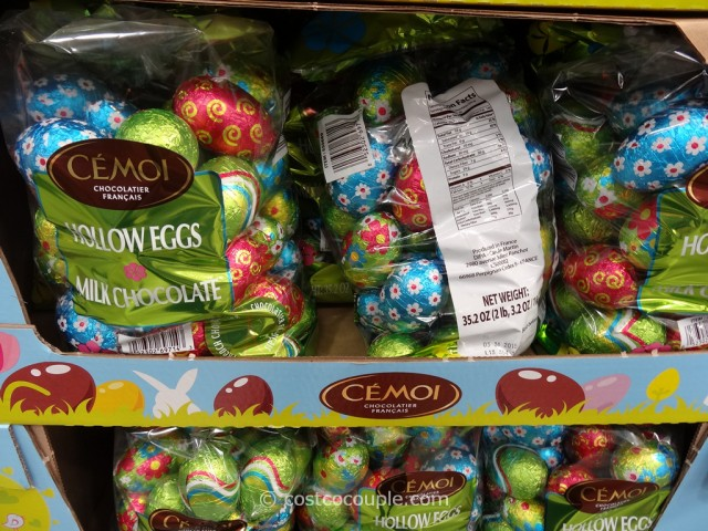 Cemoi Milk Chocolate Eggs Costco 2